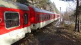 Авария в локомотива на бързия влак София - Кулата