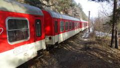 Дим спря бързия влак от София за Горна Оряховица тази вечер