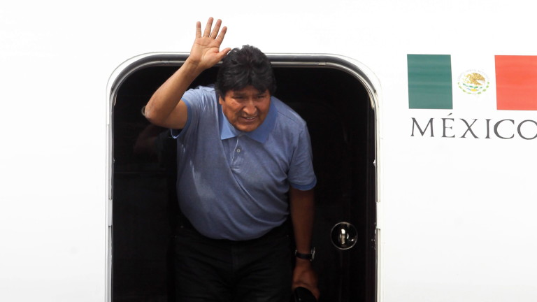 Бившият президент на Боливия Ево Моралес бе назначен в събота