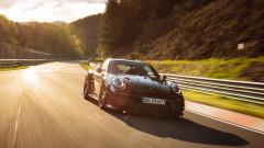 Porsche 911 постави рекорд на Нюрбургринг за серийни автомобили (Видео)