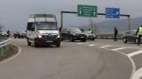 """Катастрофа на АМ """"Тракия"""" ограничи движението в района на Стара Загора"""