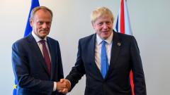 Туск към Джонсън: Играеш си с бъдещето на Европа, quo vadis