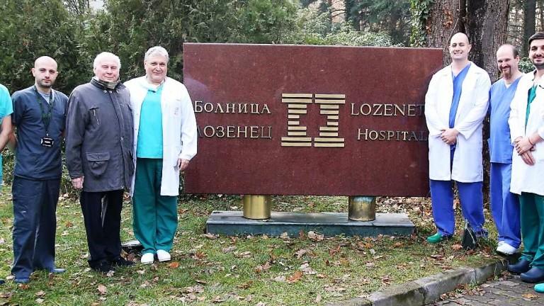 Изписаха пациента, на когото бе направена първата белодробна трансплантация, извършена