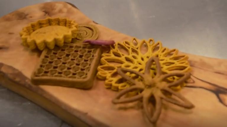 Така изглежда 3D-принтираната храна