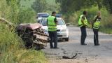 Жена загина при катастрофа край Карлово