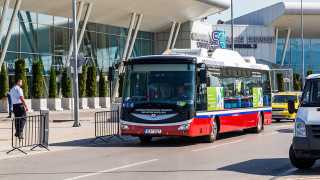 Безплатен електробус за пътниците на летище София