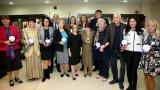 """Зам.-министър Андонов поздрави баскетболистките на Левски за 40-годишния юбилей от спечелването на купа """"Лиляна Ронкети"""""""