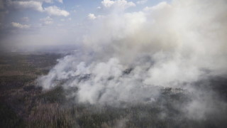 В Украйна овладяха големи пожари, убили пет души