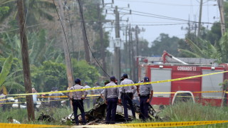 """Намериха първата """"черна кутия"""" на самолета, разбил се в Куба"""
