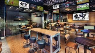 Как изглежда спортен бар от бъдещето