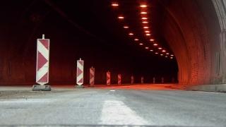 """Учение затваря тунел """"Ечемишка"""" в посока Варна"""
