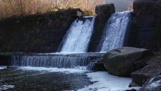 Мандра замърсила река Искър