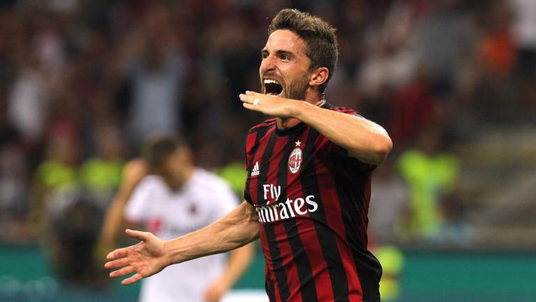 Милан успя да се раздели с ненужния Фабио Борини