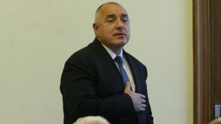 Борисов е красив и скромен, хвалят го ГЕРБ