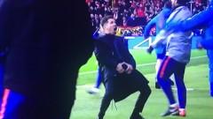 УЕФА глобява Диего Симеоне заради неприличния му жест