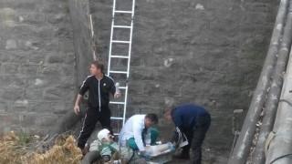 Мъж падна във Владайската река и пострада