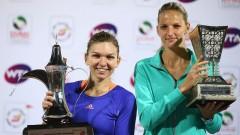 Каролина Плишкова и Симона Халеп ще играят мач с огромно значение за дамския тенис