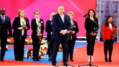 Министър Кралев откри официално Световната купа по художествена гимнастика в София