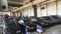 Историята с 11-те BMW-та от 90-те в хале край Благоевград