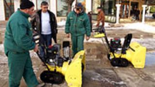 Снегопочистваща техника закупи община Каварна