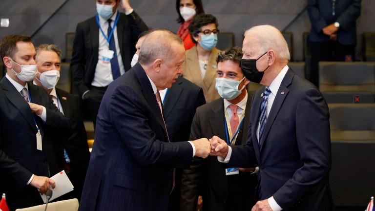 Ердоган обяви: Турция и САЩ се договориха за охраната на летището в Кабул