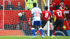 """5 от 5 за Манчестър Юнайтед, """"червените дяволи"""" напред за ФА Къп след 2:0 над Рединг"""