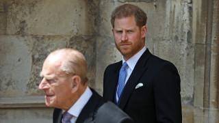 Тежките думи на принц Филип към принц Хари