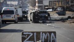 Насилие и погроми заливат Южна Африка след хвърлянето на експрезидента Зума в затвора