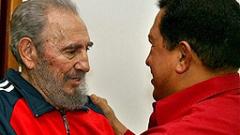 Президентът Чавес  посети Кастро