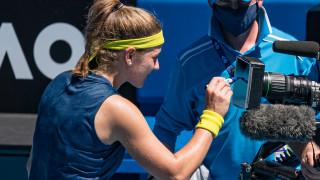 Каролина Мухова хвърли сензацията на Australian Open