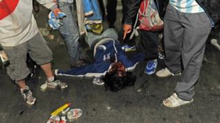 ВИДЕО: Кръв, сълзи и погроми в Буенос Айрес