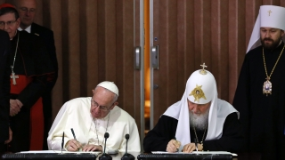 Папата и патриархът промениха световната геополитика