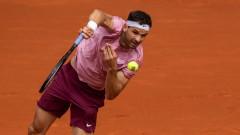 Южноафриканец елиминира Григор Димитров още на старта на турнира в Мадрид