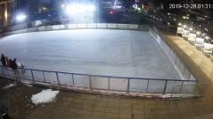 Вандали посегнаха на ледената пързалка в Бургас