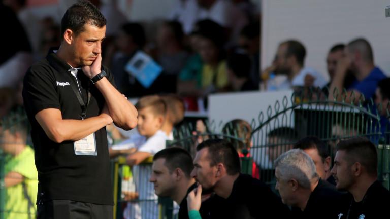 Александър Томаш: Ако можех да сменя осем от футболистите, щях да го направя