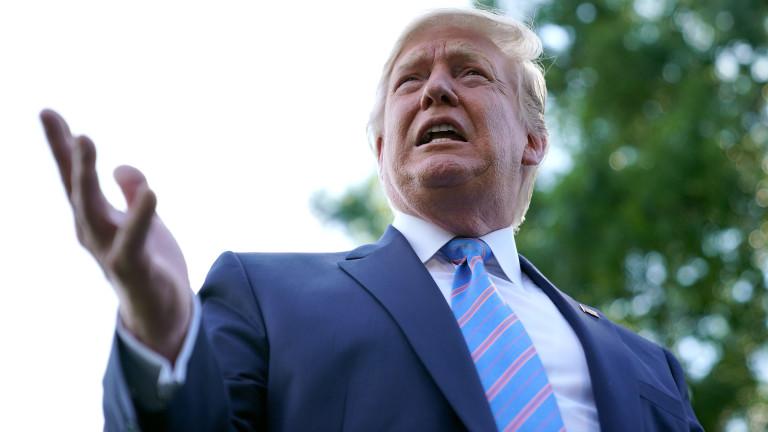 """Тръмп се подиграва с демократите, изборите им били """"пълна катастрофа"""""""