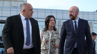 Борисов пред Мишел: Осигуряваме високо ниво на сигурност на външната граница на ЕС
