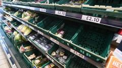 """""""Пингдемия"""" доведе до недостиг на храни във Великобритания, бензиностанции затварят"""
