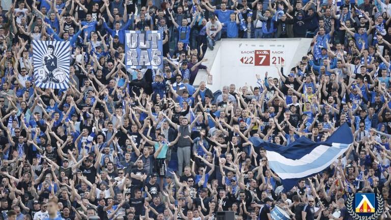 Еуфория сред левскарите! Сините фенове разграбиха 10 000 билета за отрицателно време!