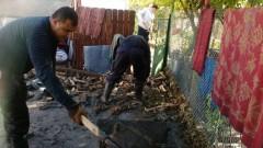 Военните помагат на бедстващите в област Бургас