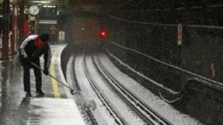 Великобритания блокирана от обилния снеговалеж