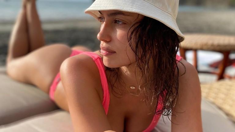 С кого почива Ирина Шейк в Коста Рика