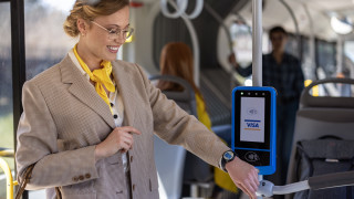 Удобство и сигурност с Visa в градския транспорт на София