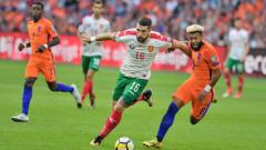 Андрей Гълъбинов се контузи, под въпрос е за мача с Босна и Херцеговина
