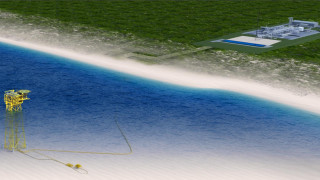 Румъния строи черноморски газопровод за $400 милиона