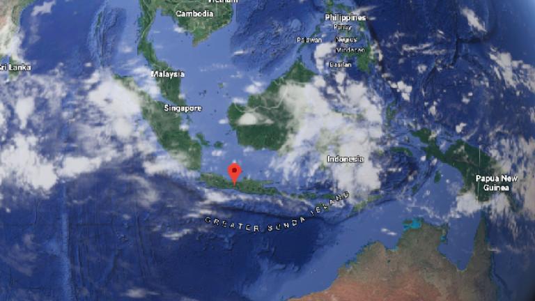 Земетресение в централната част на Индонезияпричина смъртта на трима души