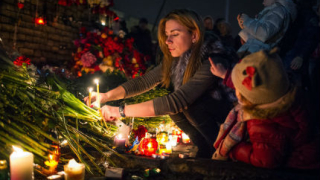 Киев отдава почит на героите от Небесната стотица