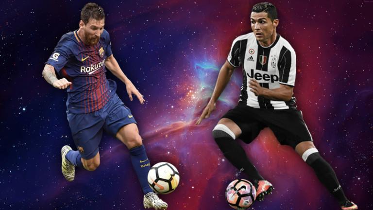 Меси по-добър голмайстор от Роналдо в Шампионска лига