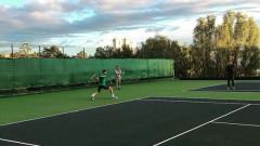 Григор Димитров тренира с баща си в Монте Карло
