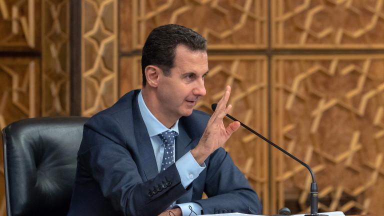 Сирийският президент Башар Асадотмени специалните визи за дипломати от ЕС,